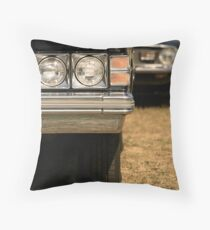 Agressive looking classic cars Throw Pillow