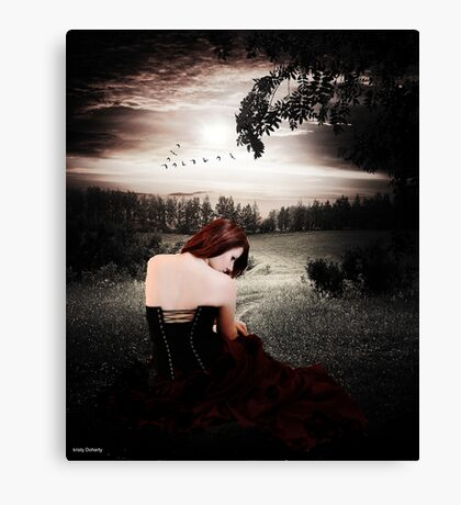 an evening to remember  Canvas Print