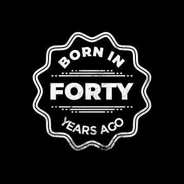 Born 40 years ago by larry01