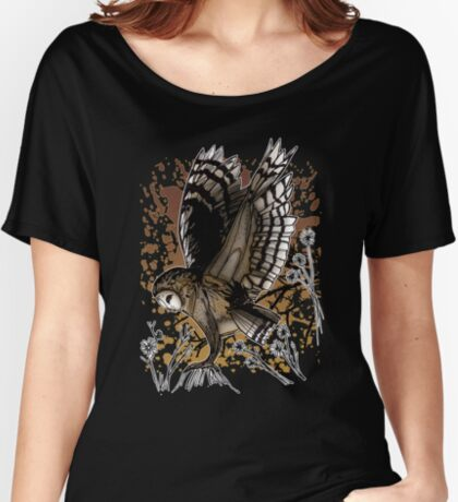 Barn Owl Stance (2) Women's Relaxed Fit T-Shirt