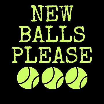 Tennis Tennis Ball Ball Sports Sports Gift by Rueb