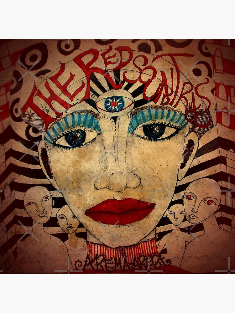 The Red Soundtracks - Art Cover de aremaarega