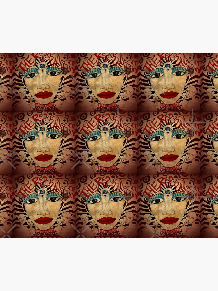 The Red Soundtracks - Art Cover de aremaarega