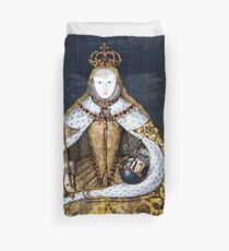 Funda nórdica La reina Isabel I de Inglaterra en su traje de coronación