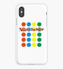 Naked Twister  iPhone Case