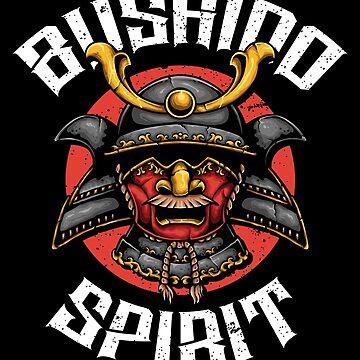 Bushido Spirit Warrior - Grunge by Skullz23