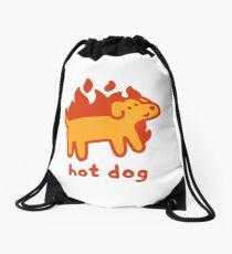 Hot Dog Drawstring Bag