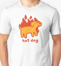 Hot Dog Slim Fit T-Shirt