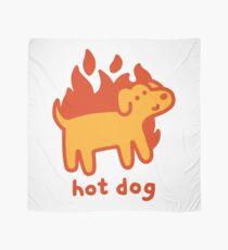 Hot Dog Scarf