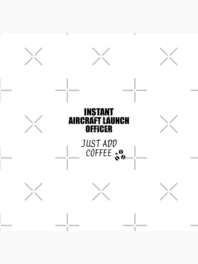 Aircraft Launch Officer Instant Just Add Coffee Funny Gift Idea for Coworker Present Workplace Joke Office von FunnyGiftIdeas