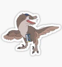 Halachiraptor Sticker