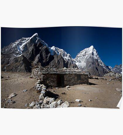 Mountain Living Poster