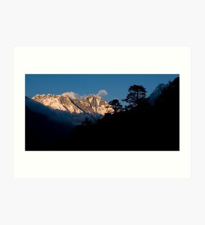 Himalayan Morning Art Print