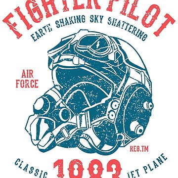 Fighter Pilot USAF 1983 by Deadscan