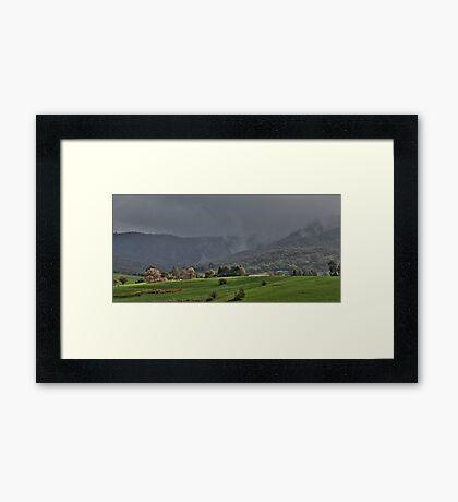Rain Approaching  Framed Print