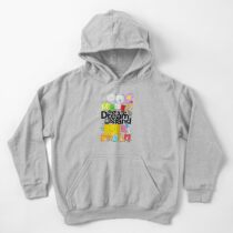 BFDI Poster White Kids Pullover Hoodie