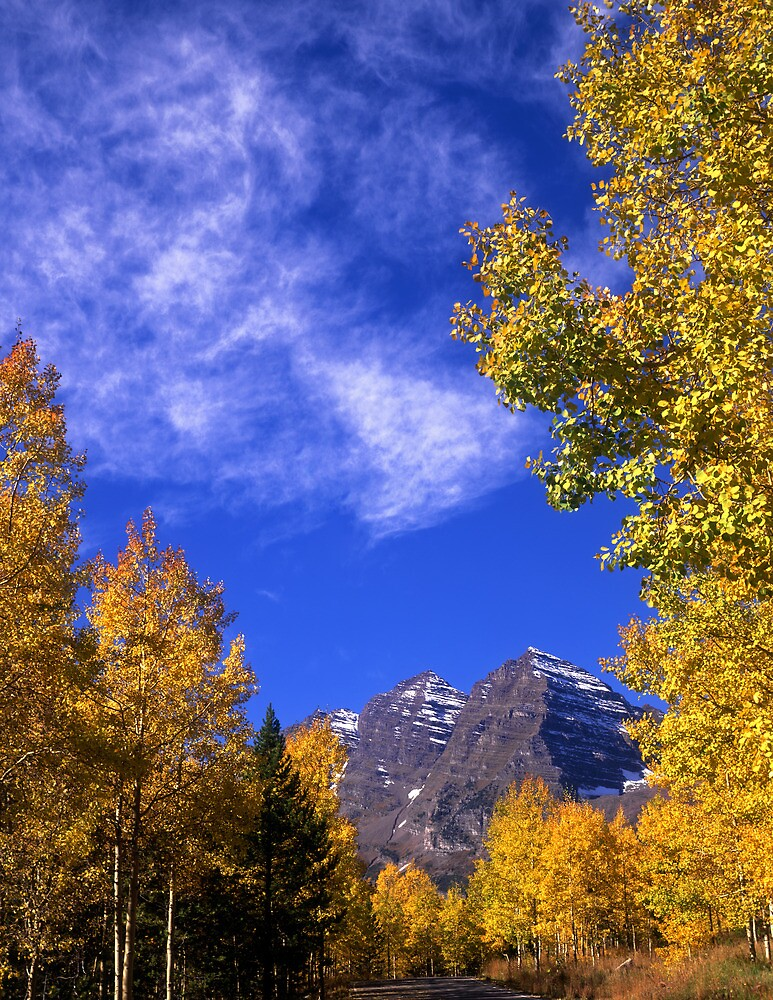 Maroon Bells Autumn #2 by Mike Norton