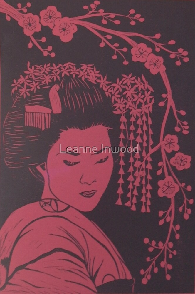 red china by Leanne Inwood
