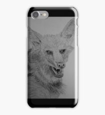 Maned Wolf iPhone Case/Skin