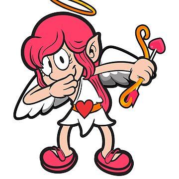 Dabbing Cupid by TrendJunky