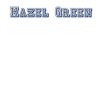 Hazel Green by CreativeTs