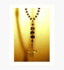 My faith - Hanging from a thread Art Print