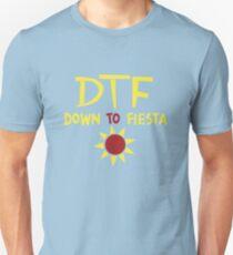 DTF Down to Fiesta Nine Nine Brooklyn  Unisex T-Shirt