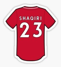 size 40 eb1bf b822a Xherdan Shaqiri Stickers | Redbubble