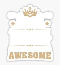 May 1944 75 Years Of Being Awesome Sticker