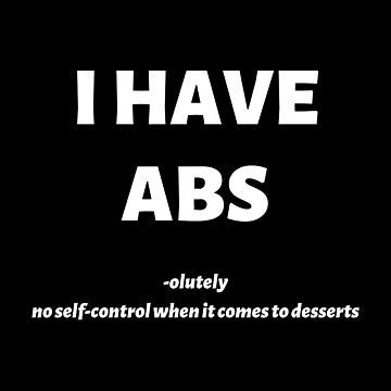 I Have Abs by Nangka