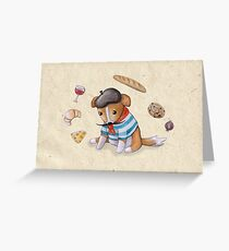 Chiot Tentaculaire Greeting Card