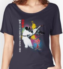White Crane Kung Fu Women's Relaxed Fit T-Shirt