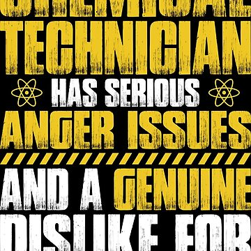 Chemical Technician Chemistry Anger Gift Present by Krautshirts