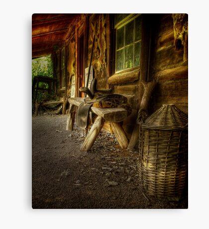 Kate's Cottage ~ Verandah Canvas Print