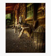 Kate's Cottage ~ Verandah Photographic Print