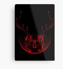 Blood Brothers - Hannibal & Will Graham Metal Print