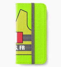 Vinilo o funda para iPhone Chalecos Amarillos - Paris, FR