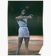 Naomi Campbell, BAM Poster