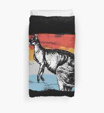 Kangaroo marsupial Duvet Cover