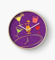 Happy Hour Cocktail Clock