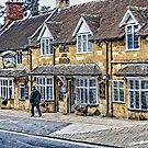 The Horse and Hound inn, Broadway, Cotswolds by Brian Tarr