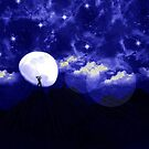 Mountaintop Moonlight Jam by shutterbug2010