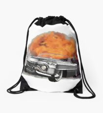 Increase Your Gears: The World Is Exploding! Drawstring Bag