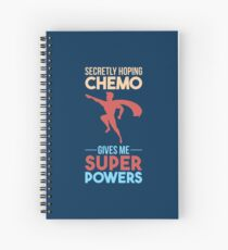 Chemo Gives Me Superpowers - Cancer Fighting Gift Spiralblock