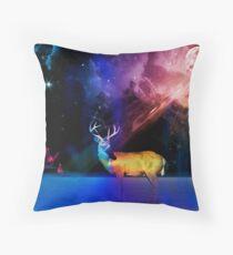 northern light clowds Throw Pillow