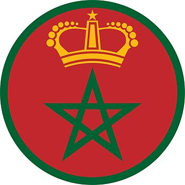 Morocco country roundel by tony4urban