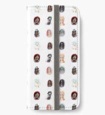 witch face print iPhone Wallet/Case/Skin