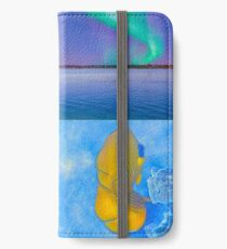 Sealife And Seashore Collage HDR Vertical 3 iPhone Wallet/Case/Skin