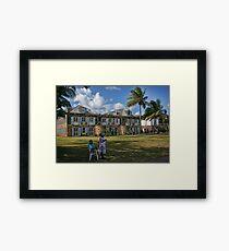 Nelson's Dockyard Framed Print