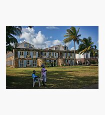 Nelson's Dockyard Photographic Print